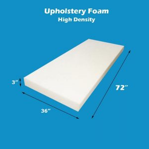FoamTouch Upholstery Cushion High Density Made in USA 0.5 H